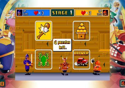 Ichidant-R - Gameplay screen