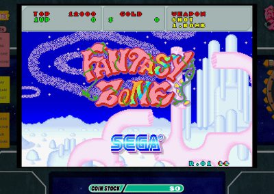 Fantasy Zone Title screen