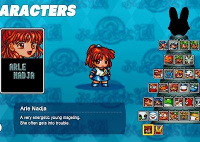 Puyo Puyo 2 character select