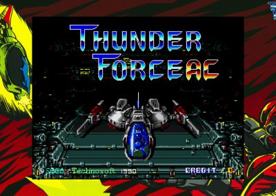 Thunder Force AC - Title